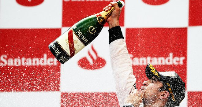 Pastor Maldonado: Took victory in Spain