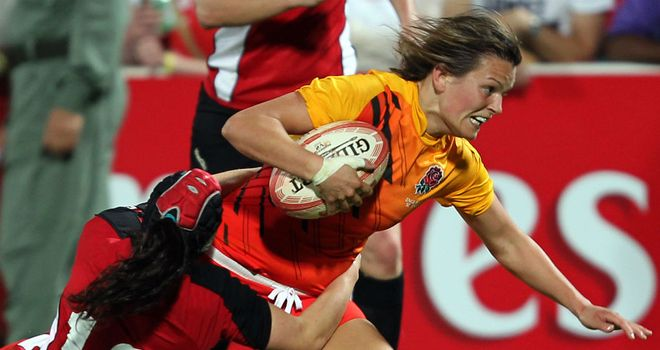 Abigail Chamberlain: Richmond centre set to make her debut against Scotland on Saturday