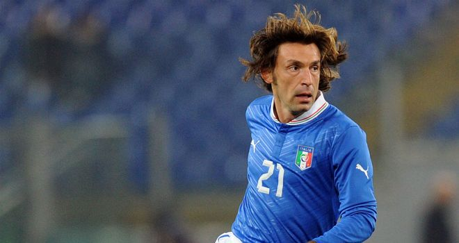 Andrea Pirlo: Spain wary of veteran's threat