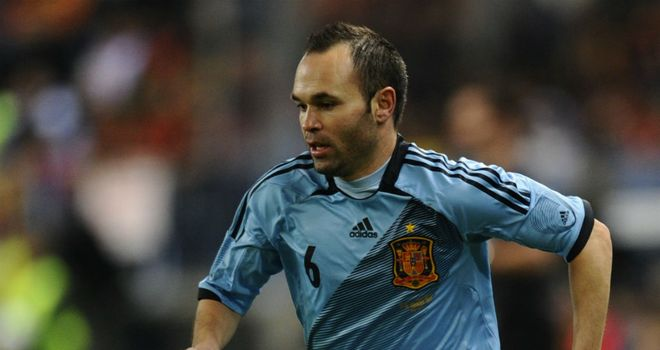 Andres Iniesta: Hoping to spark another Spain success