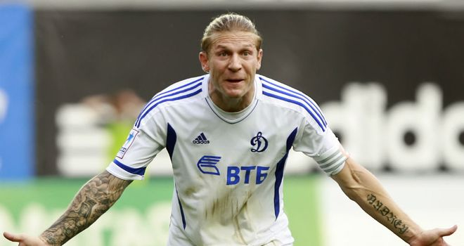 Andriy Voronin: Back in the Bundesliga after agreeing a loan deal with Fortuna Dusseldorf