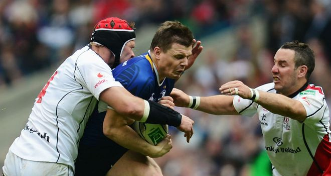 Brian O'Driscoll: Led from the front for Leinster at Twickenham