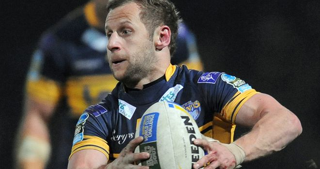 Rob Burrow: Fit for Saturday's Challenge Cup final against Warrington