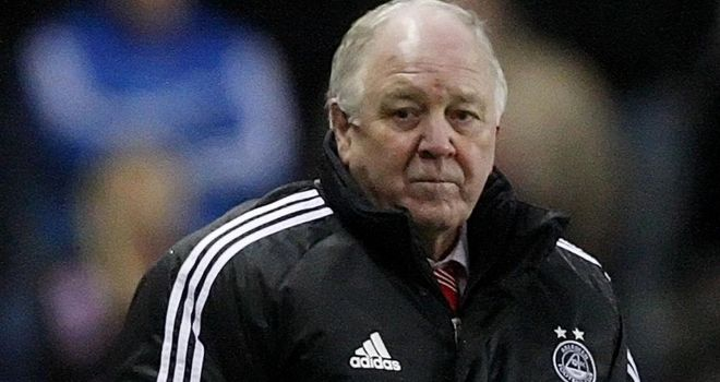 Craig Brown: Aberdeen manager has responded to Inverness boss Terry Butcher's comments after their 1-1 draw