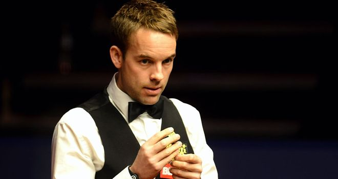 Ali Carter: Was in dominant form as he beat Stephen Maguire 5-0 in Shanghai