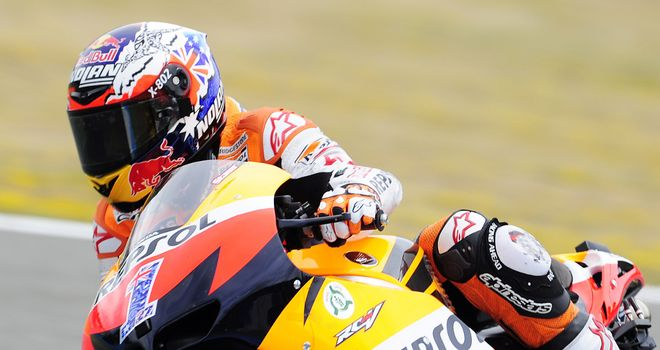 Casey Stoner: Has never won Moto GP at Estoril
