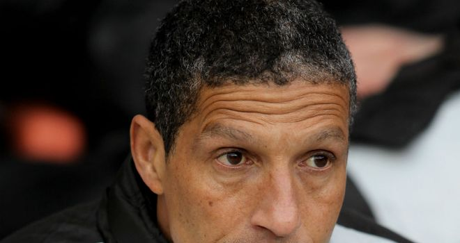 Chris Hughton: Looking forward to facing Fulham on the opening weekend