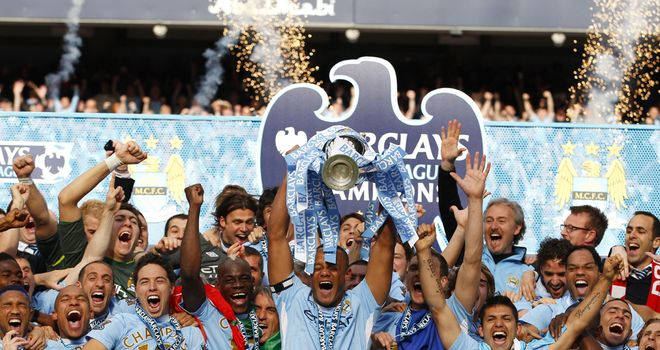 Man City: current champions are 10th in the 20-year table