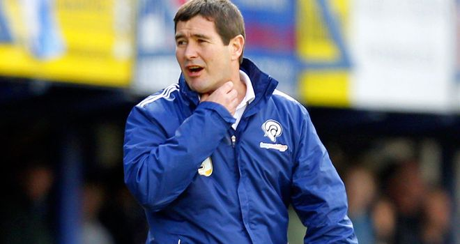 Nigel Clough: Happy with spirit, but not defending