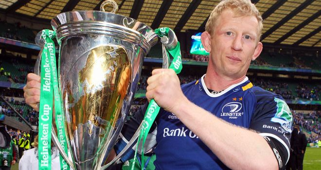 Leo Cullen: Was full of praise for Joe Schmidt and the Leinster coaching staff