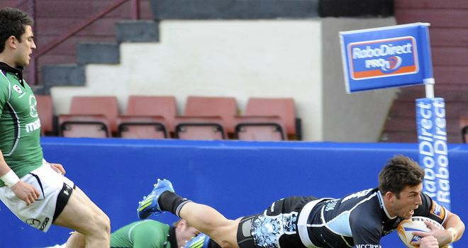 Two tries: DTH Van Der Merwe