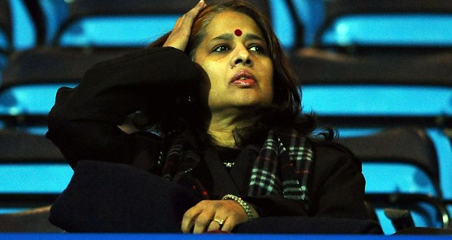 Anuradha Desai: Blackburn owner is said to be disappointed with Steve Kean's decision