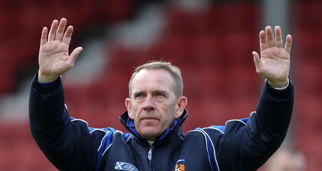 Kenny Shiels: Sanctioned by the Scottish Football Association