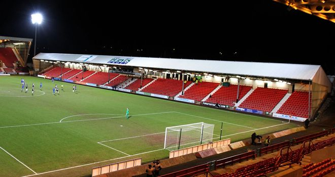 East End Park: Home of cash-strapped Dunfermline