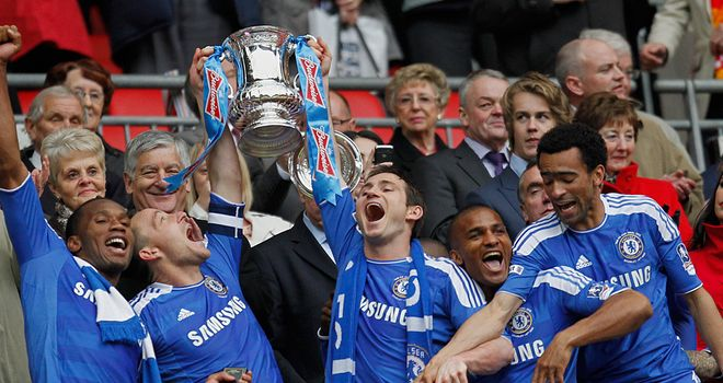 Chelsea, who lifted the trophy last season, start their defence against Southampton