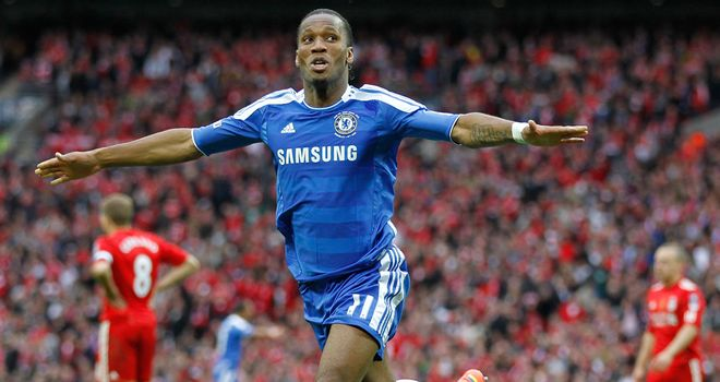 Didier Drogba: Would love to carry on his run of scoring at Wembley