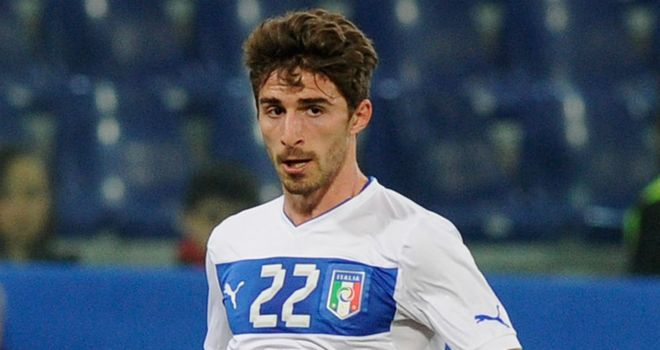Fabio Borini: Delighted to be back in England and is determined to make his mark at Anfield
