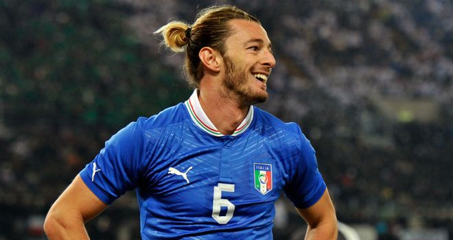 Federico Balzaretti: The Palermo defender has been attracting attention with decent displays for Italy in Euro 2012