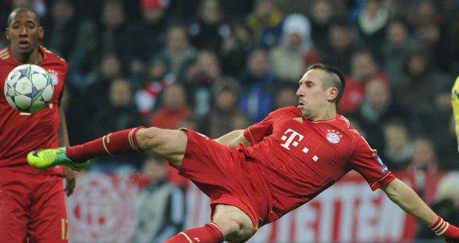 Franck Ribery: Focused on helping Bayern beat Champions League final opponents Chelsea