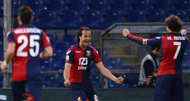 Alberto Gilardino: Genoa have dismissed talk that the striker could return to Fiorentina