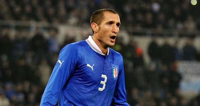 Giorgio Chiellini: Juventus defender is a veteran of Italy's last three tournaments