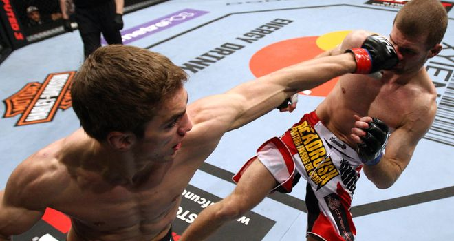 John Hathaway: Pleased with his return to the Octagon