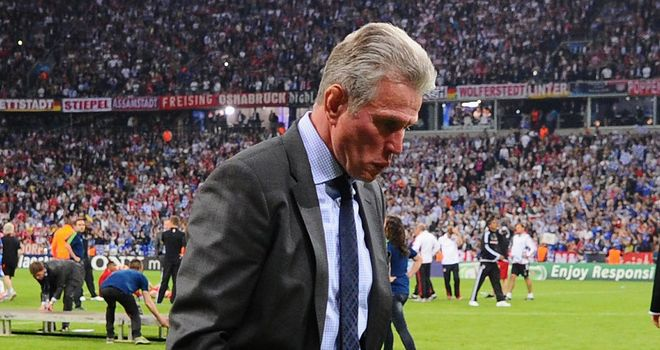 Jupp Heynckes: Saw Bayern Munich stumble into the last eight of the Champions League