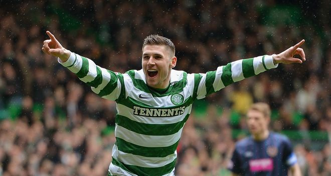 Gary Hooper: Scored 29 goals for Celtic this season