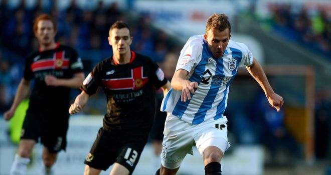 Jordan Rhodes: Scotland striker has been urged to stay at Huddersfield Town by Simon Grayson