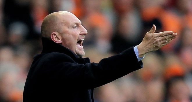 Ian Holloway: Looking to guide Blackpool back to the Premier League