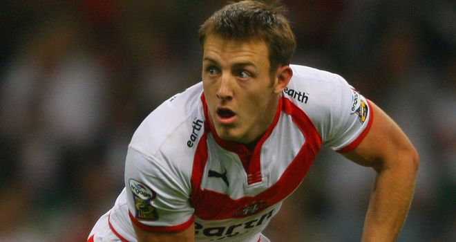 James Roby: has endured Grand Final heartache for the last five seasons with Saints