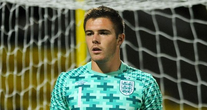 Jack Butland: Promotion into England squad has seen him attract Premier League interest
