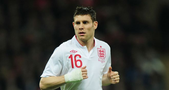 Milner: may be charged with stopping Evra and Ribery