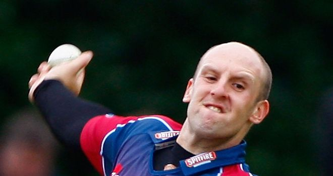James Tredwell: Played for Kent despite representing England