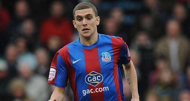 Stuart O'Keefe: Rewarded with new three-year deal at Crystal Palace