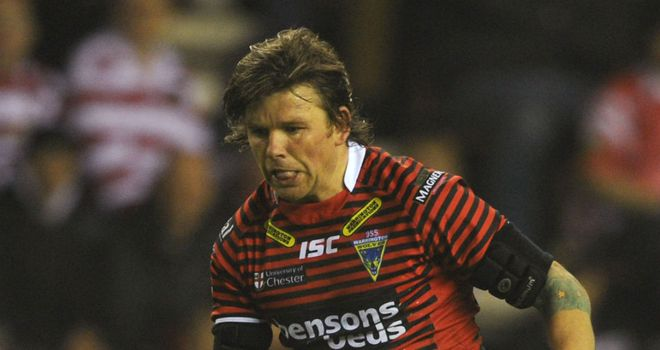 Lee Briers: Desperate to play against Widnes at the Magic Weekend