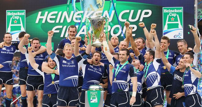 Dominant: Leinster overcame Ulster 42-14 to win their third title in four years