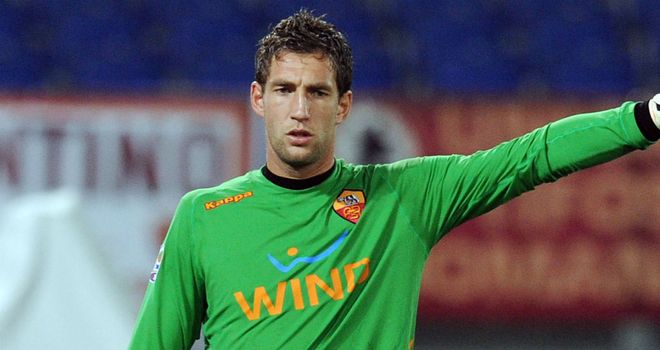 Maarten Stekelenburg: Roma goalkeeper has been linked with a move to Tottenham Hotspur