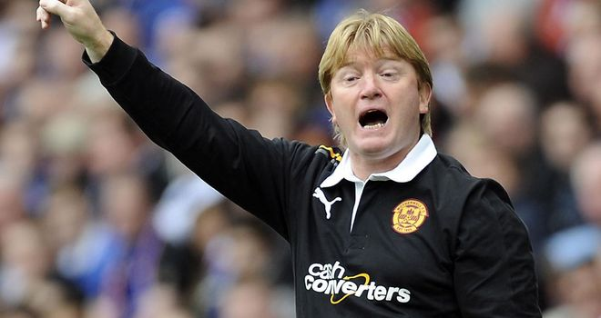Stuart McCall: Led Motherwell to the top of the early SPL table