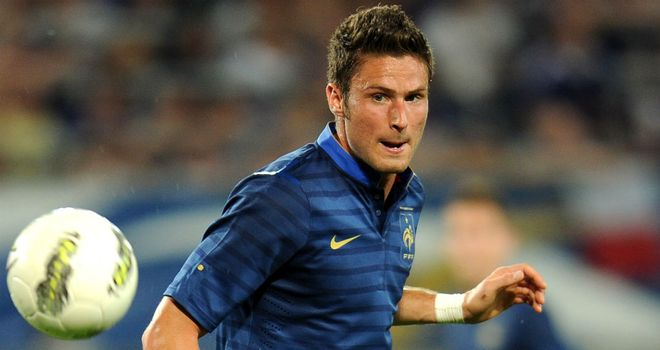 Olivier Giroud: Thought to be keen on a move to Arsenal from Montpellier