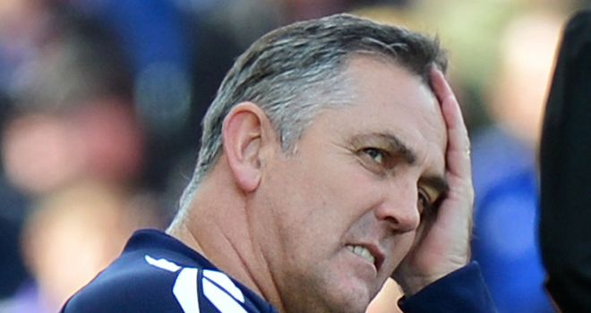 Owen Coyle: Thought the first half was very one sided against Watford