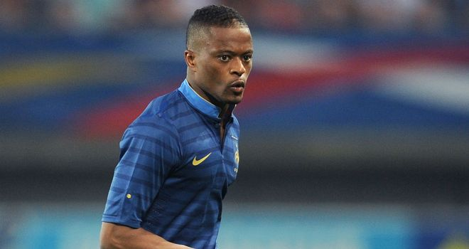 Patric Evra: Was stripped of France captaincy after the 2010 World Cup