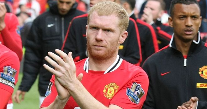 Paul Scholes: Looking to overcome the disappointment of last season