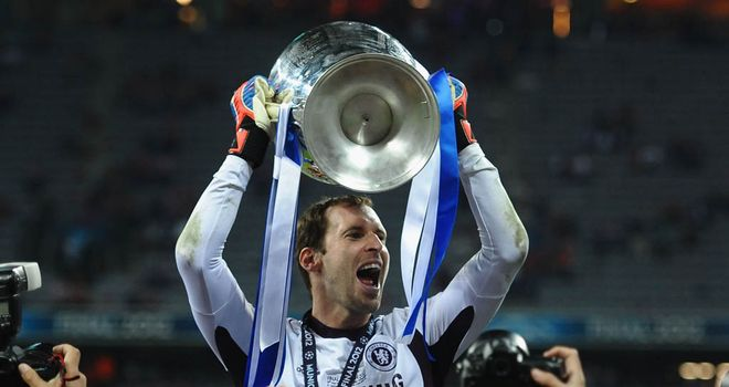 Petr Cech: Claims the Champions League win was a revolt against everybody
