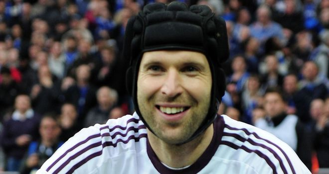 Petr Cech: Hoping to give himself an early birthday present by winning the Champions League