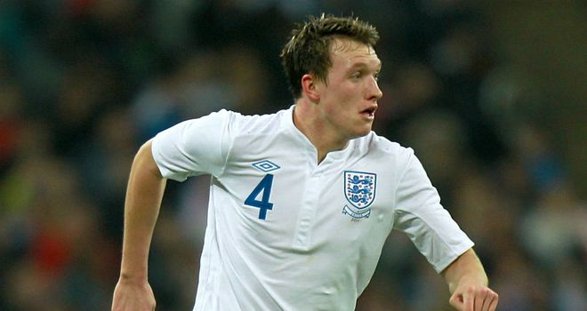 Phil Jones: No game time at Euro 2012
