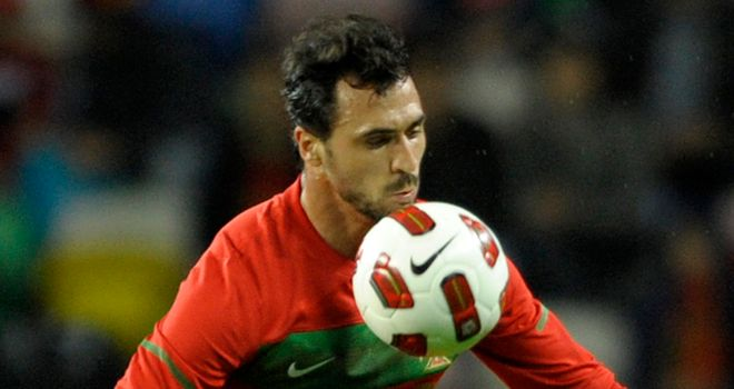 Hugo Almeida: Insists he is ready to take his chance in the starting XI for Portugal against Spain