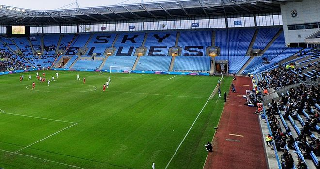 Ricoh Arena: Transfer embargo at Coventry