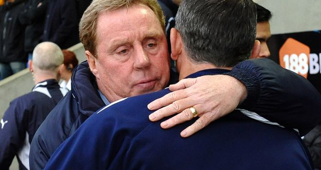 Harry Redknapp: Pleased with performance at Bolton