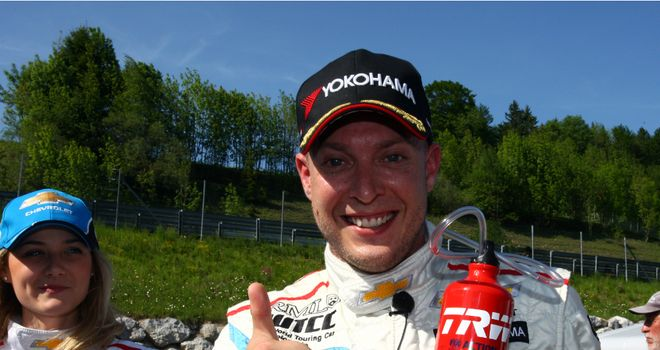 Rob Huff: Claimed his maiden World Touring Car Championship title despite hitting a wall in Macau